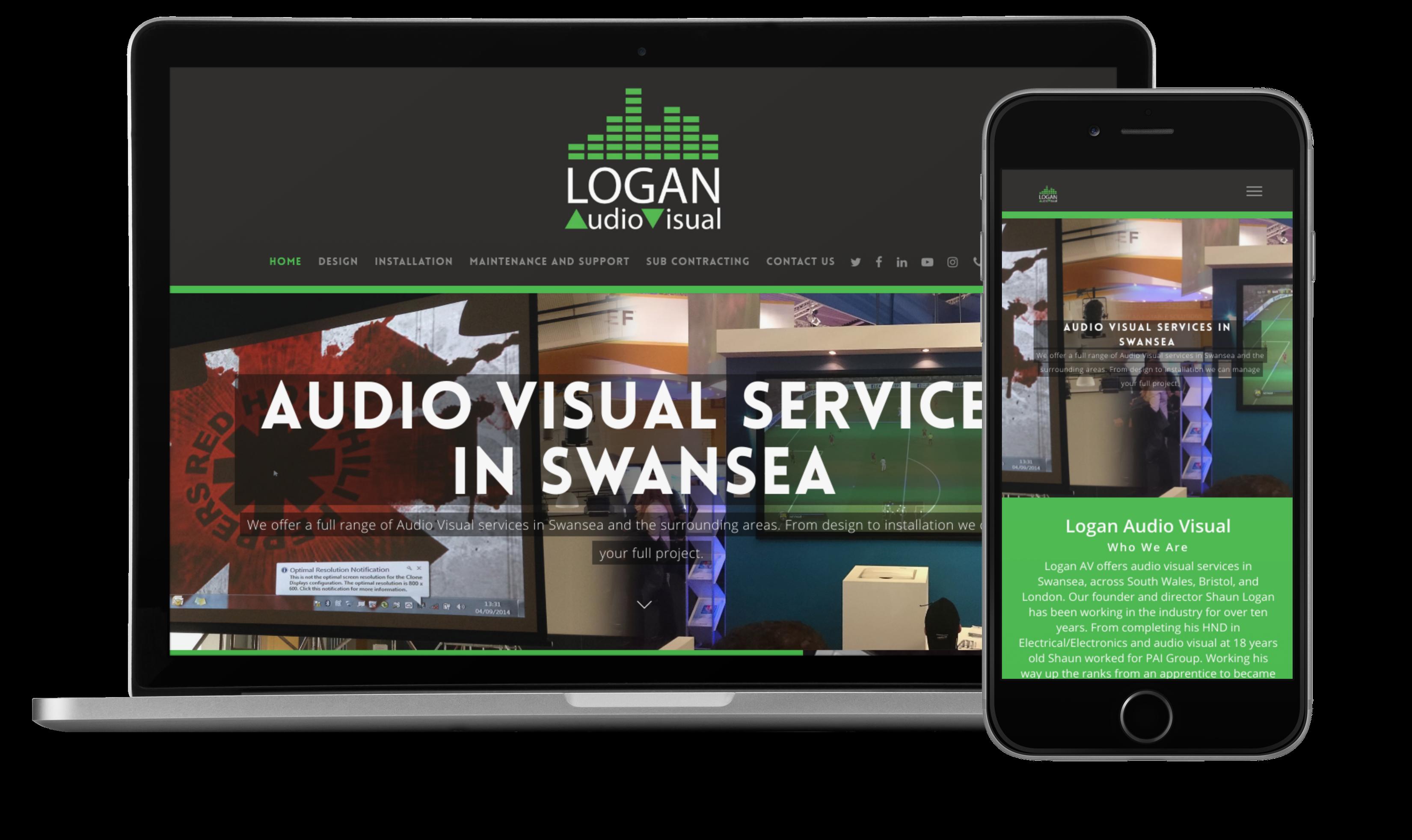 Logan Audio Website